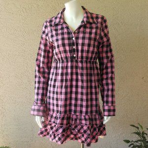 VS PINK Ruffled Babydoll Dress NWOT Vintage